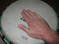 african drumming techniques bass