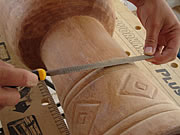 djembe carving