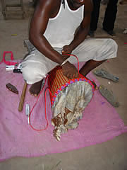 djembe facts preparing the rope tensioning system