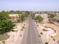 Banjul from the monument