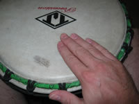 african drumming techniques tone